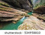 Guam Rocky Mountain River Gorg...