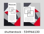 abstract vector layout... | Shutterstock .eps vector #534966130