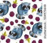 seamless watercolor pattern...   Shutterstock . vector #534970648