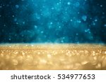 abstract defocused gold and... | Shutterstock . vector #534977653