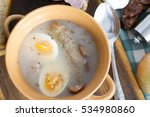 traditional zurek with sausage...   Shutterstock . vector #534980860