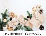 preparing for christmas gifts... | Shutterstock . vector #534997276