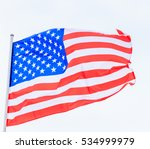flag of the united states of... | Shutterstock . vector #534999979