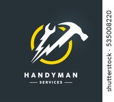 Concept Handyman Services Logo...