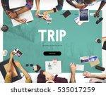 adventure destination holiday... | Shutterstock . vector #535017259