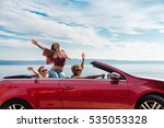 group of happy young people... | Shutterstock . vector #535053328