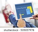 online store add to cart... | Shutterstock . vector #535057978