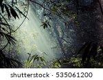sunlight rays pour through... | Shutterstock . vector #535061200