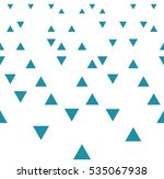abstract geometric blue graphic ... | Shutterstock .eps vector #535067938