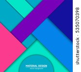 vector material design... | Shutterstock .eps vector #535070398