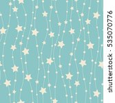 seamless pattern with stars. | Shutterstock . vector #535070776