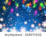 blue background with color... | Shutterstock .eps vector #535071910