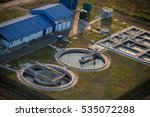 small local sewage treatment | Shutterstock . vector #535072288