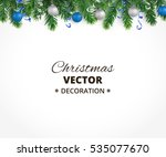 holiday background with... | Shutterstock .eps vector #535077670
