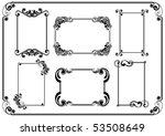 set of frames | Shutterstock .eps vector #53508649