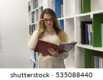 education school concept. happy ... | Shutterstock . vector #535088440