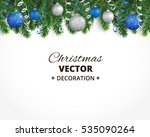 holiday background with... | Shutterstock .eps vector #535090264