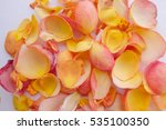assorted roses heads. various... | Shutterstock . vector #535100350