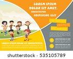 template for advertising... | Shutterstock .eps vector #535105789