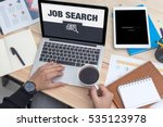 job search icon concept on...