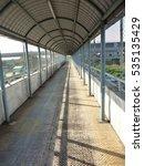 path on overpass | Shutterstock . vector #535135429
