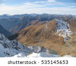 view of the italian alps  mount ... | Shutterstock . vector #535145653