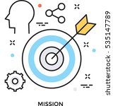 strategy vector icon | Shutterstock .eps vector #535147789