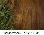 closeup of flowering cannabis... | Shutterstock . vector #535148134