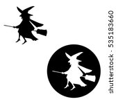 witch | Shutterstock .eps vector #535183660