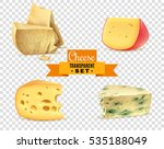 best quality special cheeses... | Shutterstock .eps vector #535188049