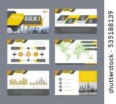 company presentation templates...   Shutterstock .eps vector #535188139