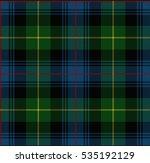 vector knitted plaid tartan... | Shutterstock .eps vector #535192129