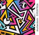 music geometric seamless...   Shutterstock .eps vector #535207816