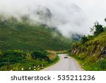 laos highway   road through... | Shutterstock . vector #535211236