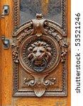 Antique Door Knocker From Door...