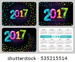 set of sunday start pocket...   Shutterstock . vector #535215514