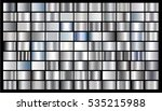 silver gradient background... | Shutterstock .eps vector #535215988