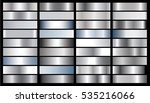 silver gradient background... | Shutterstock .eps vector #535216066