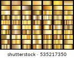 gold gradient background vector ... | Shutterstock .eps vector #535217350