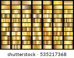 gold gradient background vector ... | Shutterstock .eps vector #535217368
