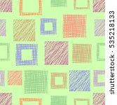 seamless raster  geometrical... | Shutterstock . vector #535218133