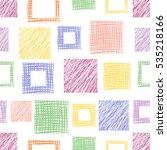 seamless raster geometrical... | Shutterstock . vector #535218166