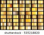 gold gradient background vector ... | Shutterstock .eps vector #535218820