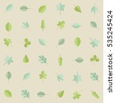 seamless vector pattern with... | Shutterstock .eps vector #535245424