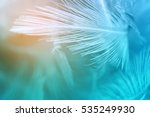 green turquoise and blue color... | Shutterstock . vector #535249930