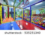 indoor children playground | Shutterstock . vector #535251340