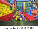 indoor children playground | Shutterstock . vector #535251400
