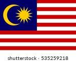 malaysia vector flag | Shutterstock .eps vector #535259218