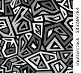 vector seamless pattern. modern ... | Shutterstock .eps vector #535269784