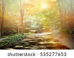 the magic forest | Shutterstock . vector #535277653
